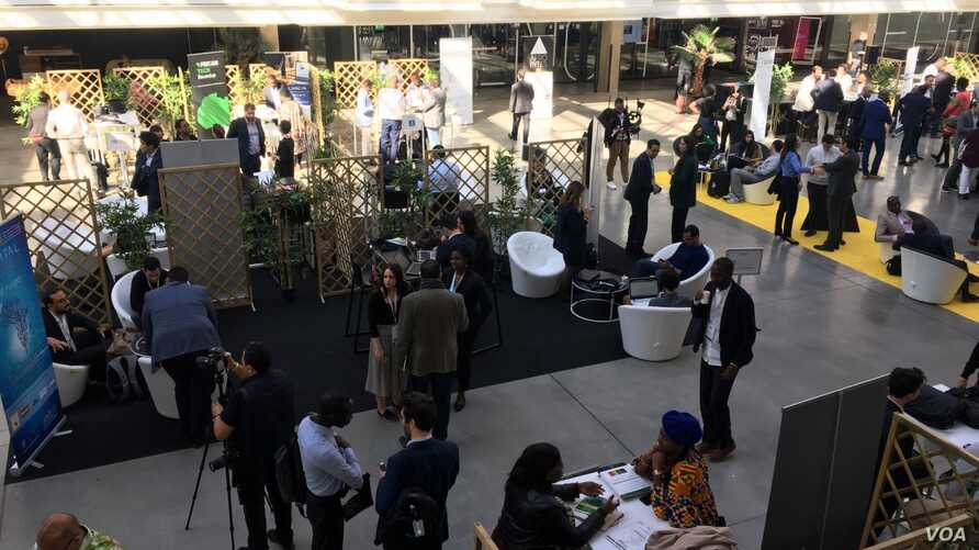 General view of Station F where Afrobytes 2019 took place in Paris, May 15th 2019