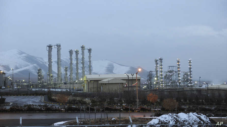 FILE - The heavy water nuclear facility near Arak, 150 miles (250 kilometers) southwest of the capital Tehran, Iran, Jan. 15, 2011.