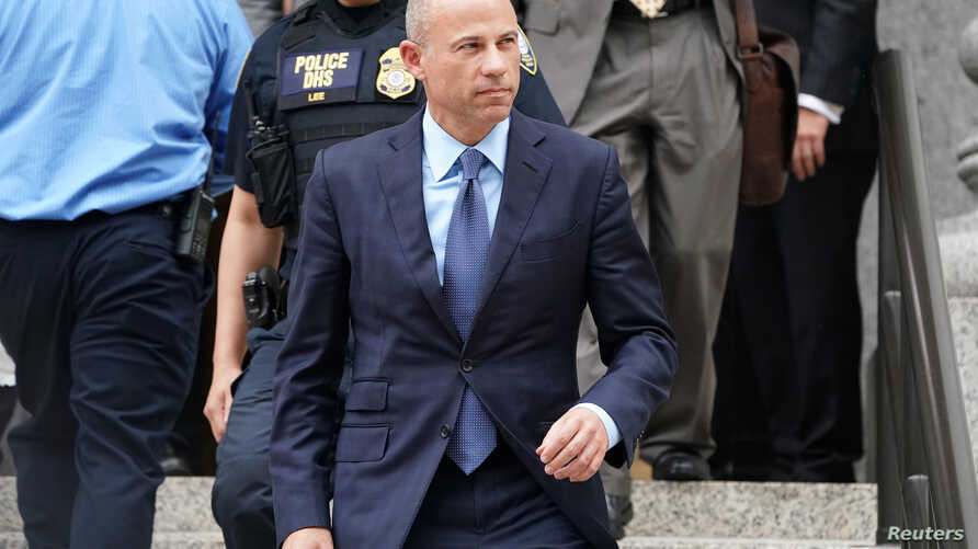 Lawyer Michael Avenatti departs federal court in the Manhattan borough of New York, New York, May 28, 2019.