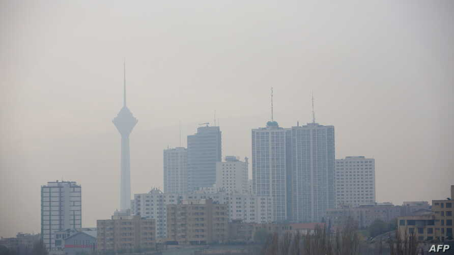 A general view of the  buildings the northwestern district of Tehran on Dec. 5, 2012.
