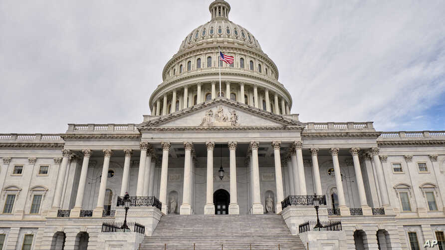 The United States Capitol building is seen in this general view, March 11, 2019, in Washington.