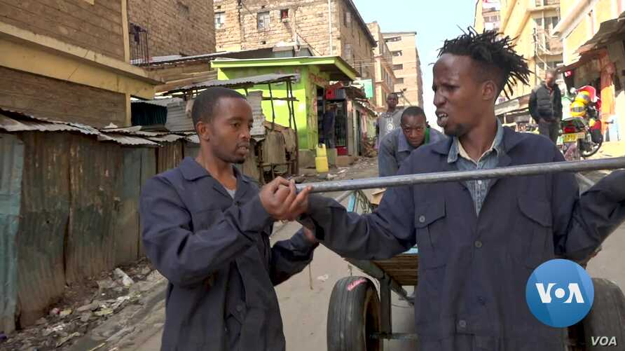Cleaning the streets of garbage while creating jobs for unemployed youth. This is what a youth group is doing in the Kenyan capital, Nairobi.