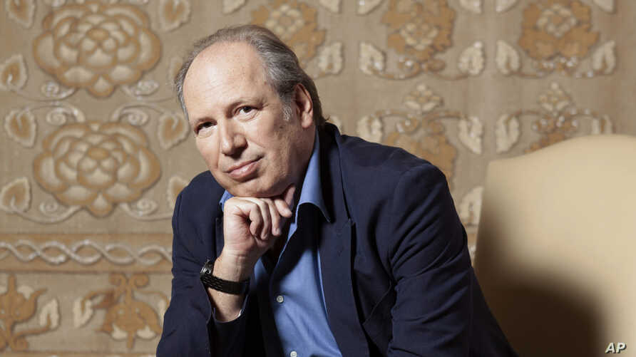 "Composer Hans Zimmer poses for a portrait at the Montage Hotel in Beverly Hills, Calif., to promote the film ""The Lion King,""  July 10, 2019."
