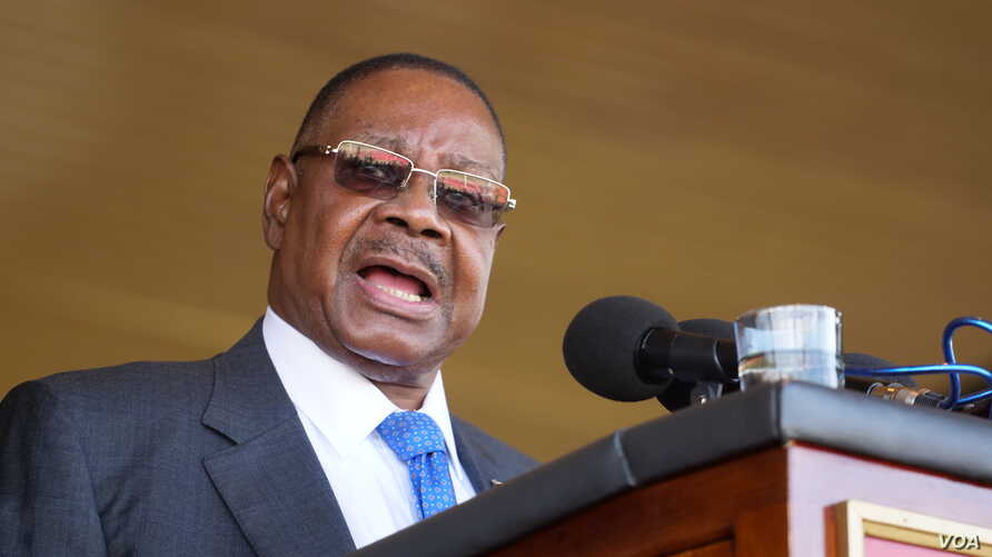 Mutharika accused  opposition leaders of want to use the protests to unseat him.
