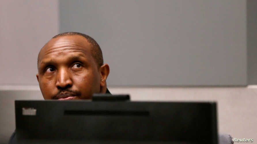 Congolese militia commander Bosco Ntaganda sits in the courtroom of the ICC (International Criminal Court) during his trial at the Hague, in the Netherlands, July 8, 2019.