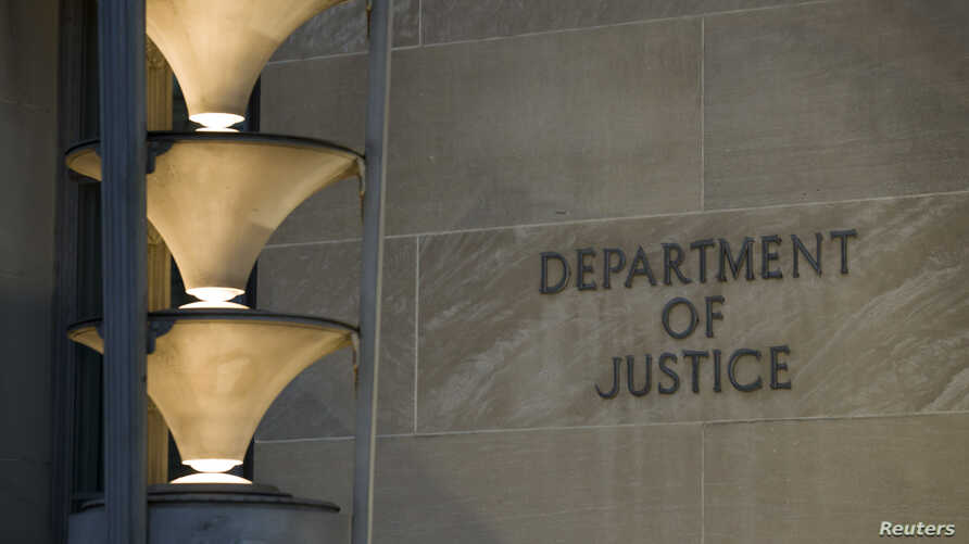 The Department of Justice is seen, March 22, 2019, in Washington.