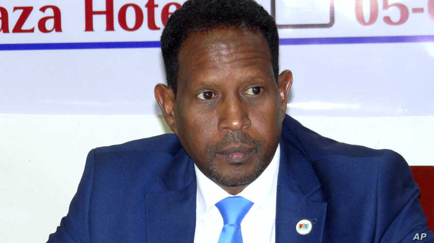 Somalia's government says, Aug. 1, 2019, Mayor of Mogadishu Abdirahman Omar Osman has died after being badly wounded in an al-Shabab extremist attack in his office on July 24.