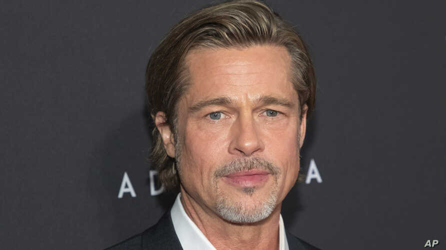 "Actor Brad Pitt attends a special screening of ""Ad Astra"" at the National Geographic Museum, Sept. 16, 2019, in Washington."