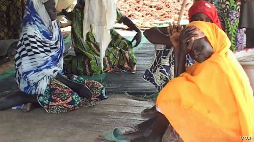 Flood victims from the northern Cameroon village of Kaikai.