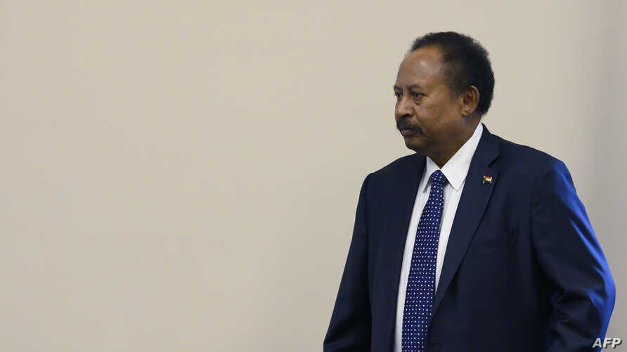 Sudanese Prime Minister Abdalla Hamdok meets with the House Foreign Affairs Committee on Capitol Hill in Washington, DC, on…