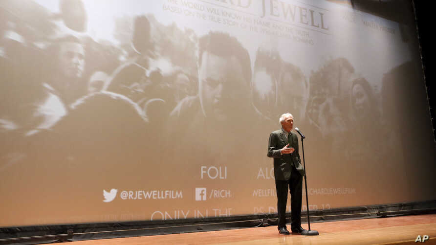 """Clint Eastwood, Director/Producer, seen at the """"Richard Jewell"""" Screening at Camp Pendleton on Saturday, Dec. 7, 2019. (Photo…"""
