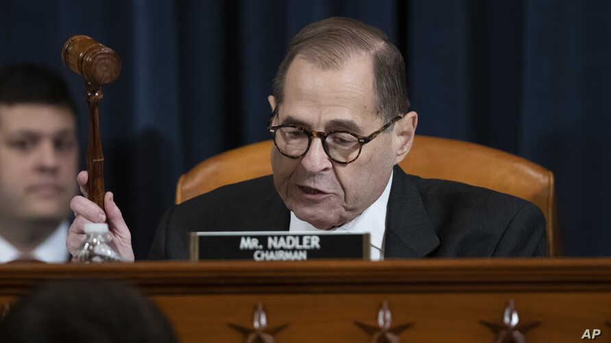 House Judiciary Committee Chairman Rep. Jerrold Nadler, D-N.Y., gavels a recess of a House Judiciary Committee markup