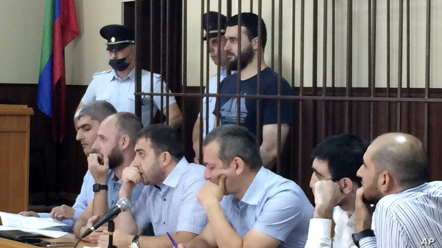 In this photo taken on Sunday, June 16, 2019, Abdulmumin Gadzhiev, the religious affairs editor of the independent weekly…