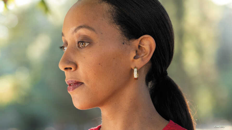Author Haben Girma, a lawyer who was born deaf and blind and is an advocate for accessibility.