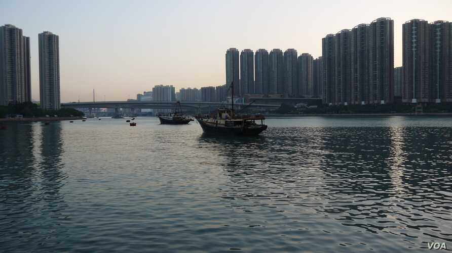As sea levels rise, Moody's said the worst impact on Hong Kong would be the hit to cross-border trade.