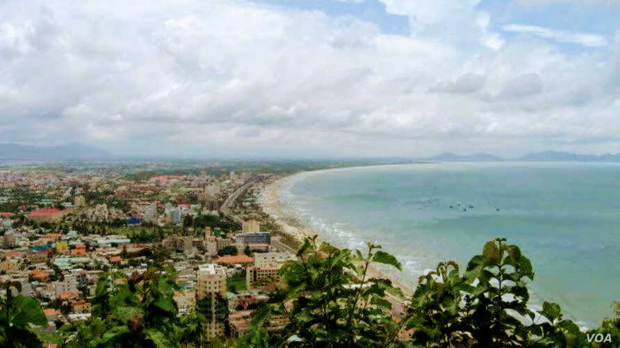 The beach is seen in Vung Tau, Vietnam, one of the developing nations that moved up the Worldwide Educating for the Future Index when it was adjusted for income. (VOA News)