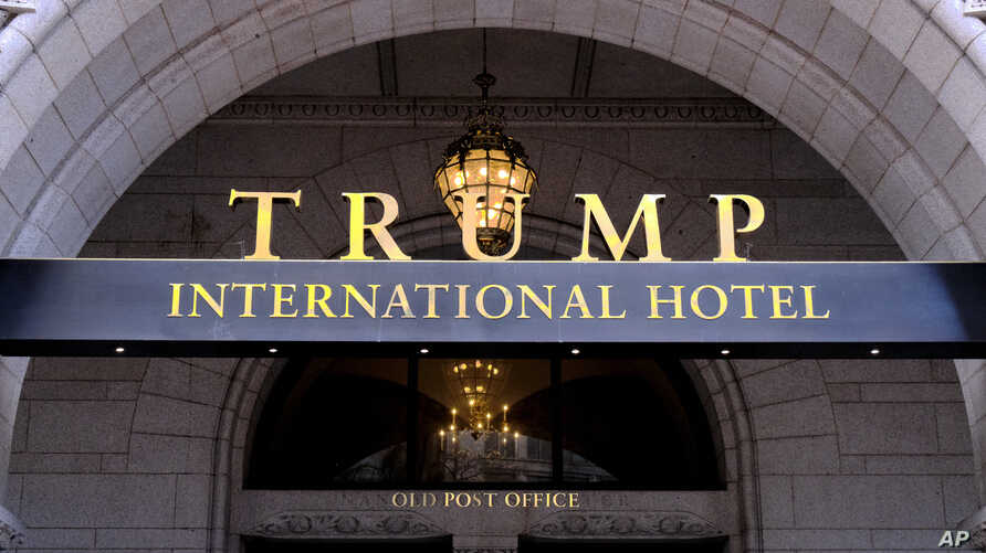 FILE - The Trump International Hotel is seen in Washington, March 11, 2019.