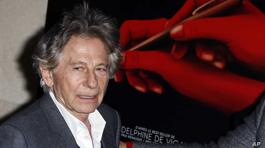 "FILE - Filmmaker Roman Polanski poses for a photo prior to the screening of ""Based on a True Story,"" in Paris, France, Oct. 30, 3017."