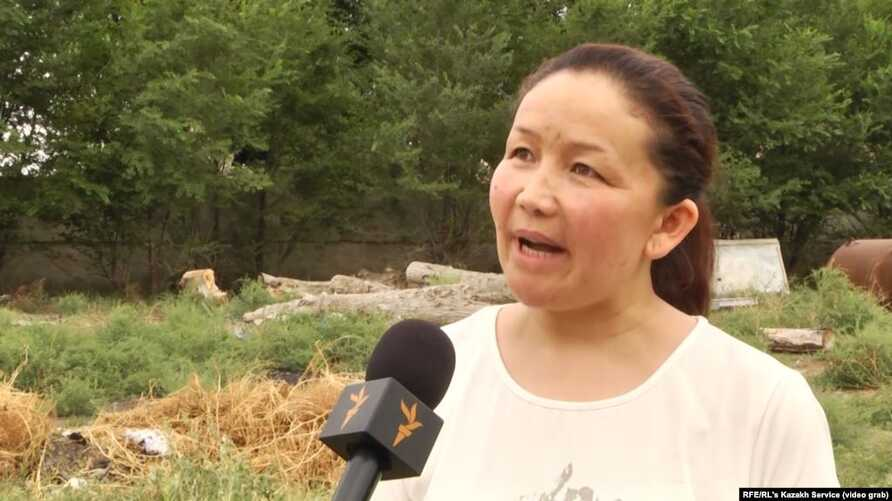"""Sairagul Sauytbay, an ethnic Kazakh from China's northwestern region of Xinjiang was one of the first victims to speak publicly about China's """"repressive campaign against Muslims. (file photo)"""