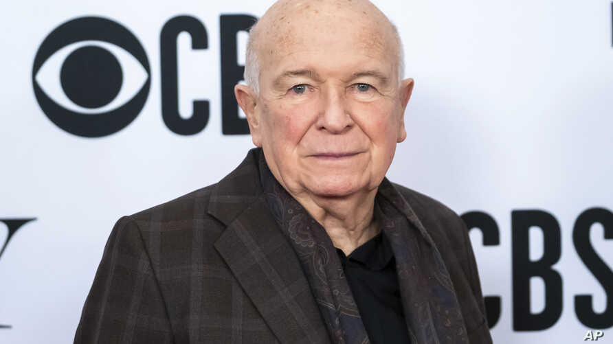 """FILE - Playwright Terrence McNally at the 73rd annual Tony Awards """"Meet the Nominees"""" press day in New York, May 1, 2019."""