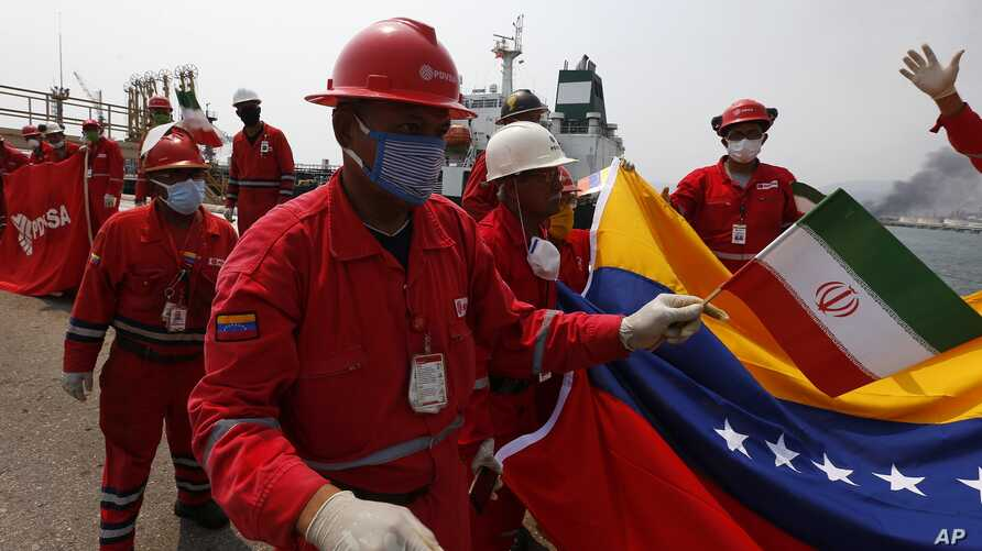 Iranian Oil Taker Docks in Venezuela, Defying US Sanctions | Voice ...