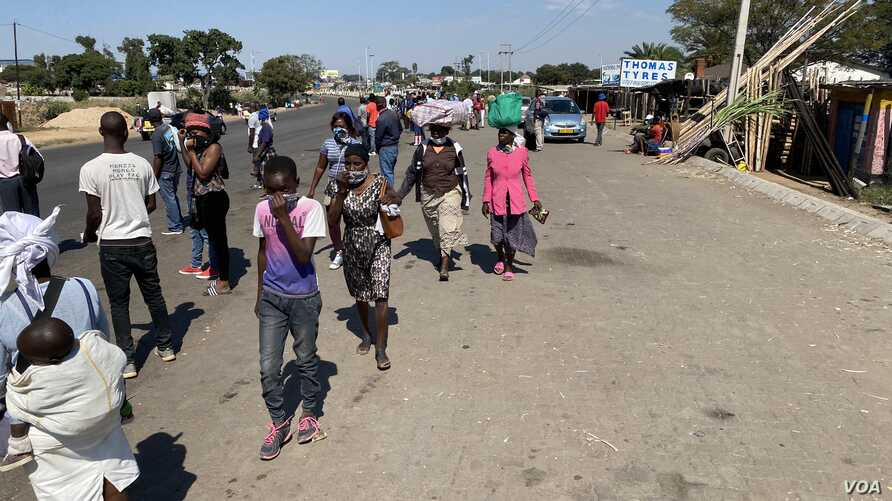 It is back to normal in Harare, Zimbabwe (May 15, 2020) for most informal traders despite a lockdown called by the government last month to contain the spread of the coronavirus.