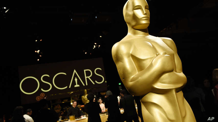 An Oscar statue is pictured at the press preview for the 91st Academy Awards Governors Ball, Friday, Feb. 15, 2019, in Los Angeles. The 91st Academy Awards will be held on Feb. 24, 2019, at the Dolby Theatre in Los Angeles.