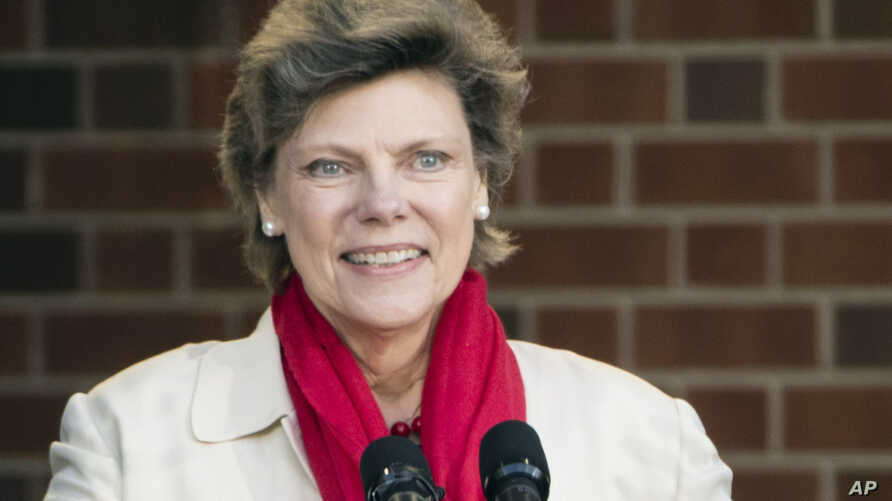 FILE- In this April 19, 2017, file photo, Cokie Roberts speaks during the opening ceremony for Museum of the American Revolution in Philadelphia. Roberts, a longtime political reporter and analyst at ABC News and NPR has died, ABC announced Tuesday,…