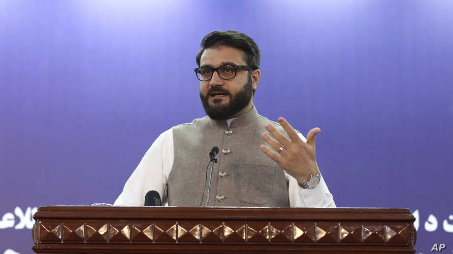 Afghanistan's National Security Adviser Hamdullah Mohib