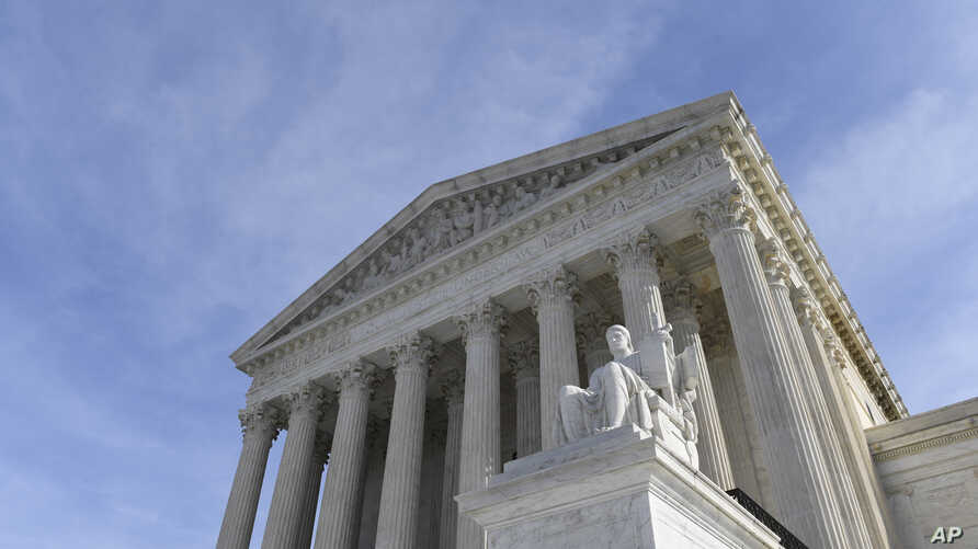 A view of the Supreme Court in Washington, Monday, Nov. 11, 2019. Protections for 660,000 immigrants are on the line at the…