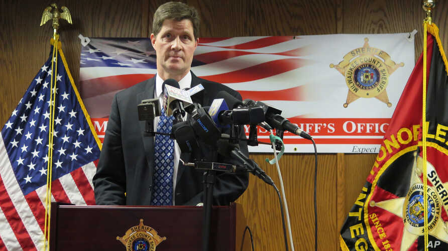 In this Feb. 12, 2018, file photo, District Attorney John Chisholm discusses criminal charges he filed against three county…