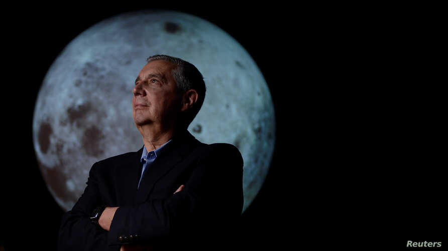 University of Colorado Boulder director of NASA/NLSI Lunar University Network for Astrophysics Research Burns stands for a portrait at the Fiske Planetarium.