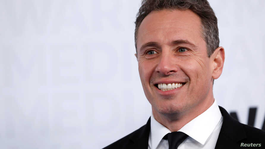 CNN television news anchor Chris Cuomo poses as he arrives at the WarnerMedia Upfront event in New York City, New York, U.S., May 15, 2019. REUTERS/Mike Segar