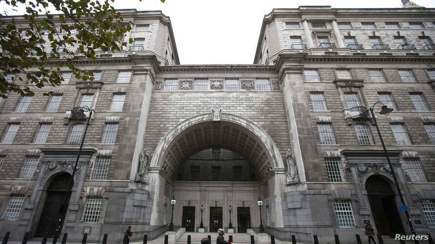 Thames House, the headquarters of the British Security Service (MI5) is seen in London, Britain October 22, 2015. REUTERS/Peter…