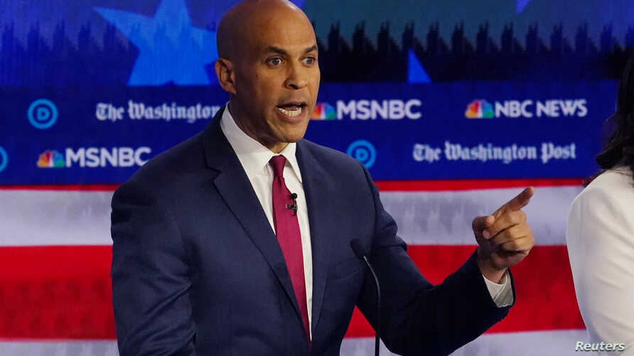 New Jersey Senate Race 2020.Booker S Critical Test Languishing Campaign Plots Rebound