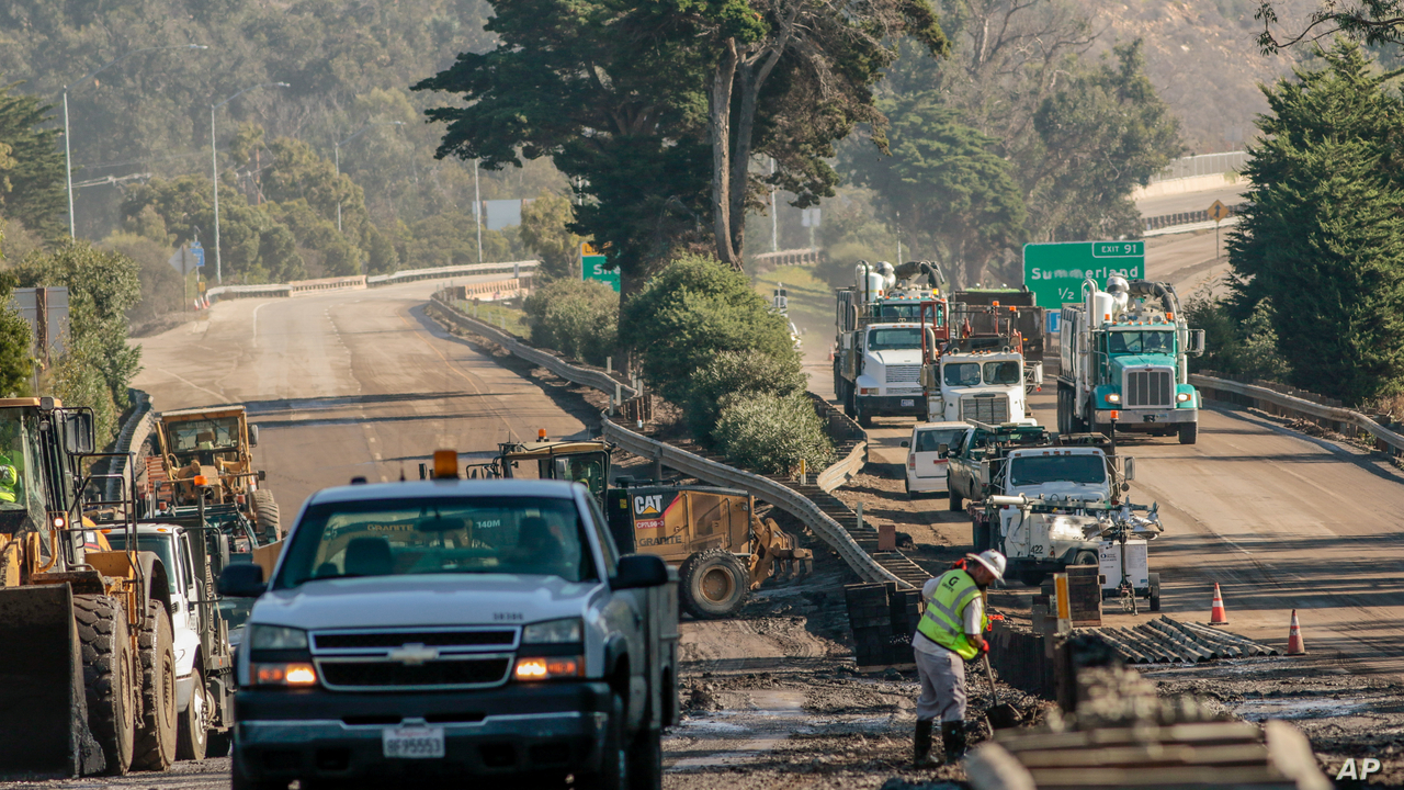 Key California Highway Reopens After Deadly Mudslide | Voice