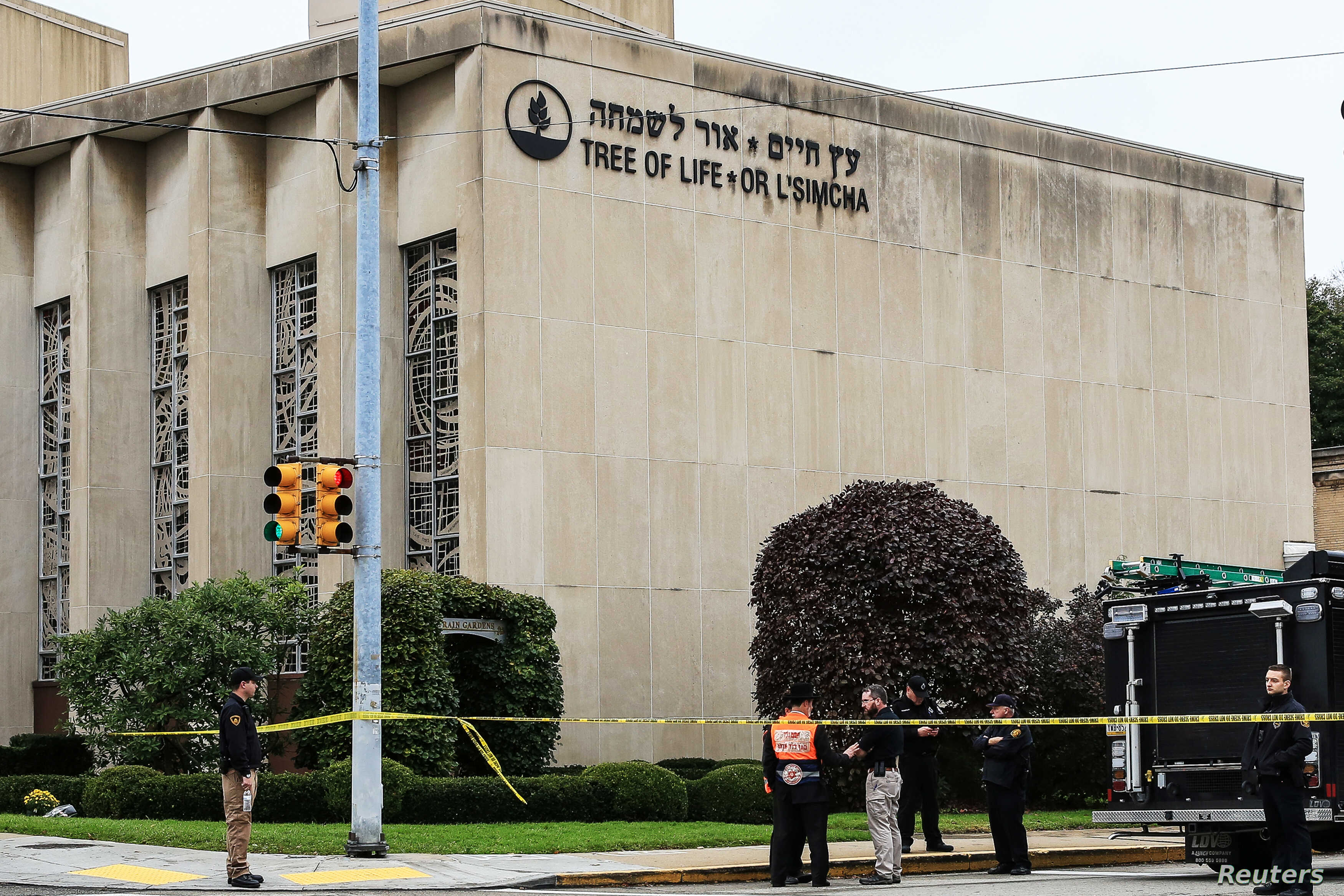 US Authorities: Mayhem at Pittsburgh Synagogue a 'Hate Crime
