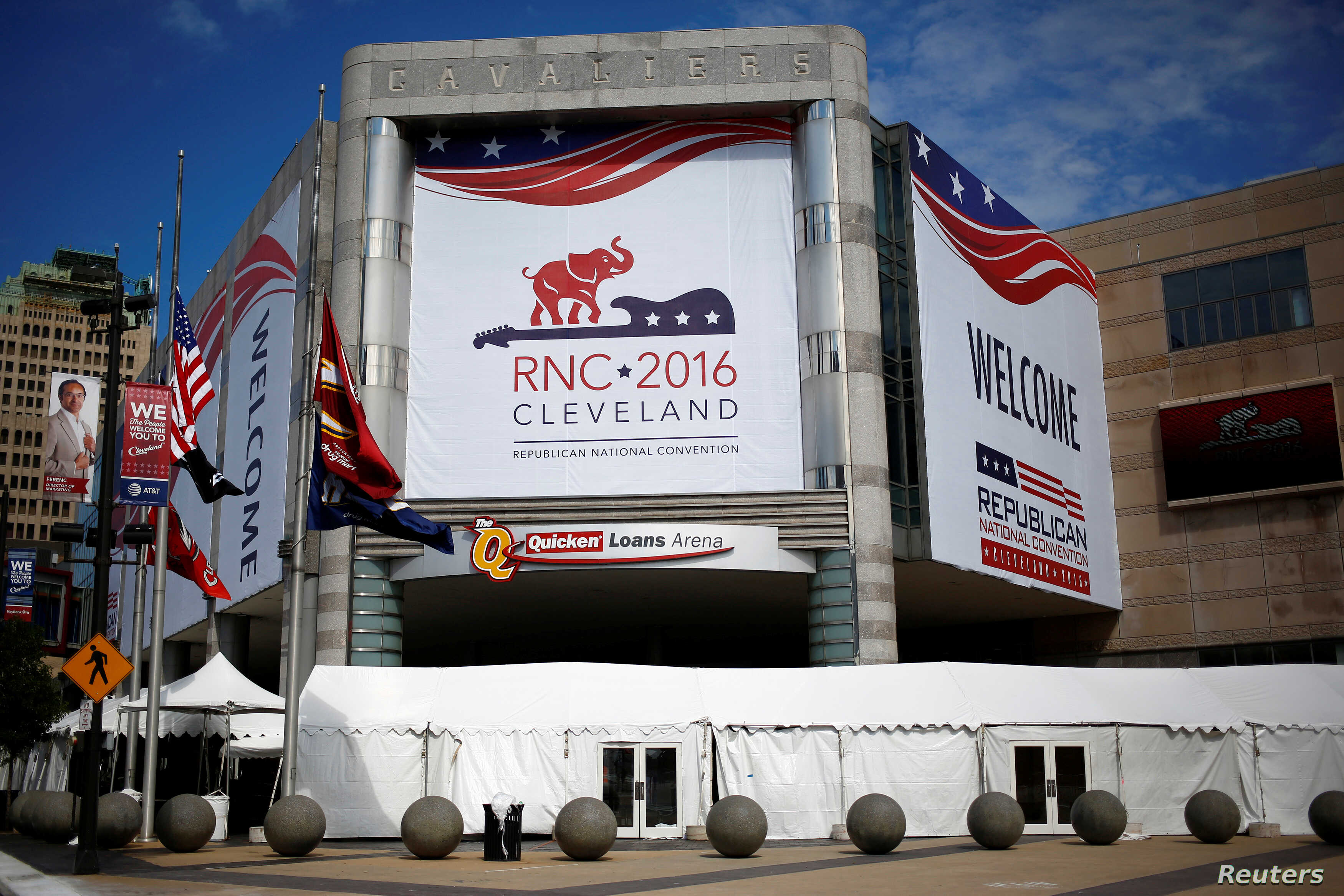 Republicans Open Convention With Focus on Security