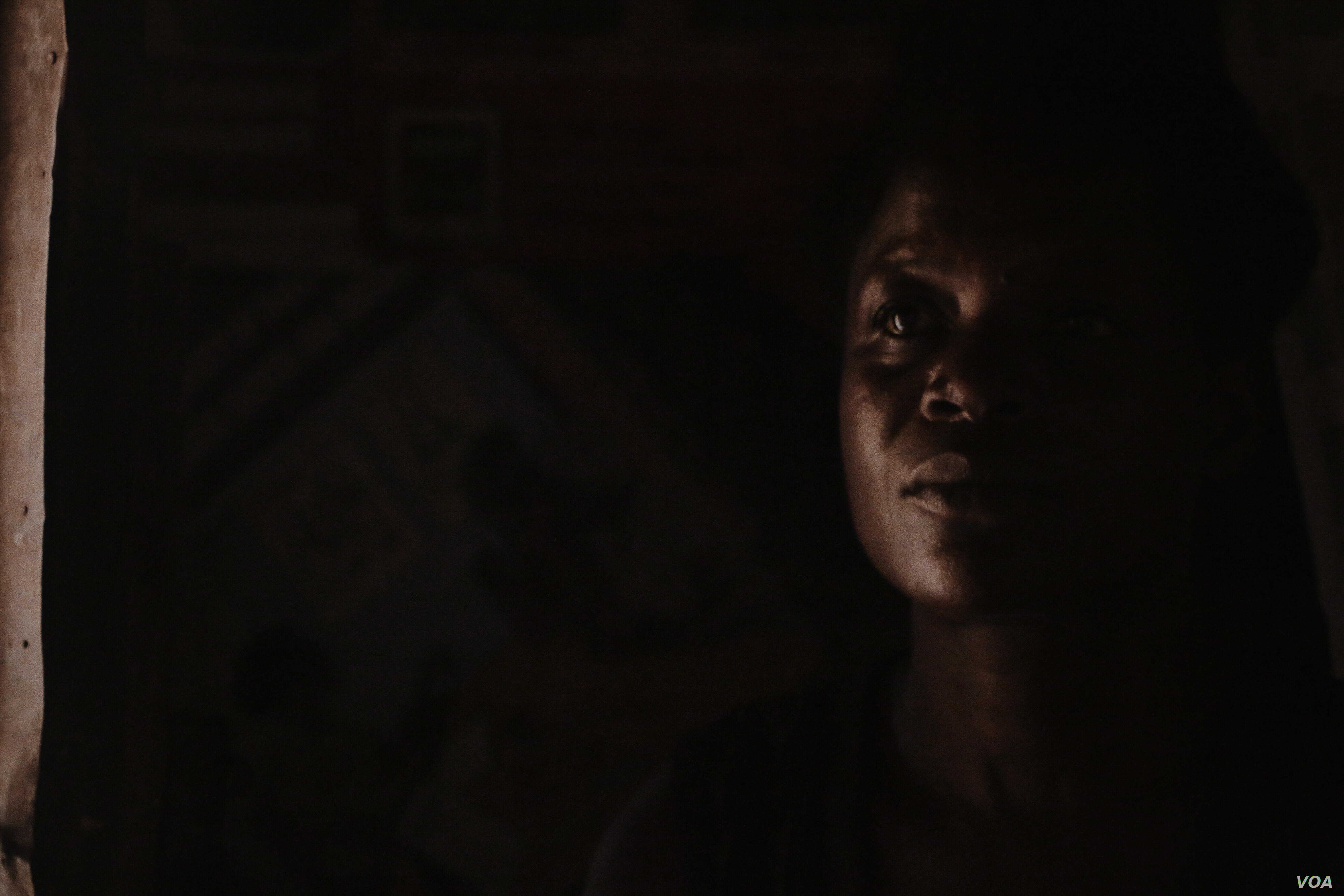 Florence Ayot got amnesty after 15 years in captivity with the LRA, Gulu, Uganda, Oct., 2015. (S. Roosblad/VOA)
