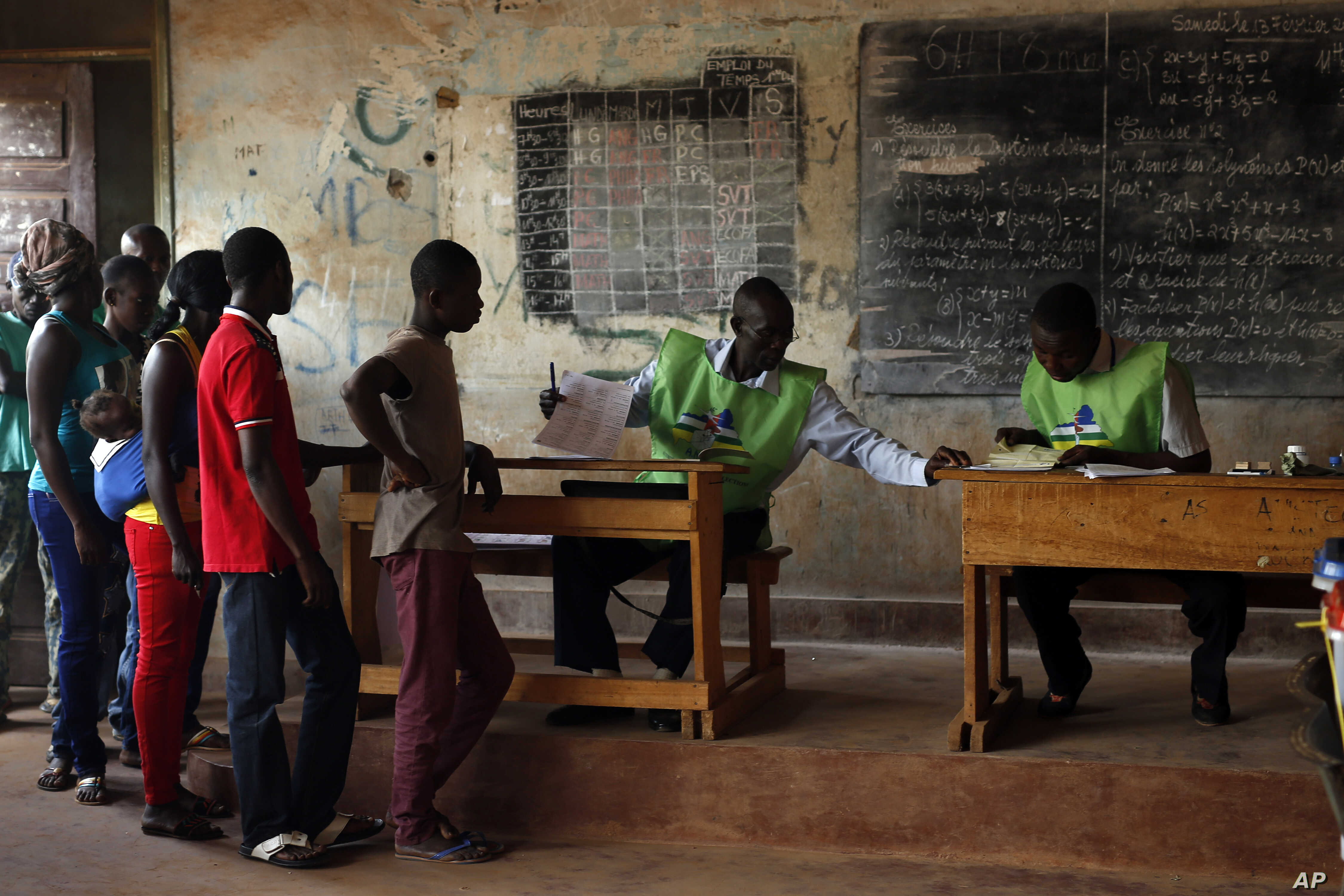Table H Et H central african republic votes in presidential runoff