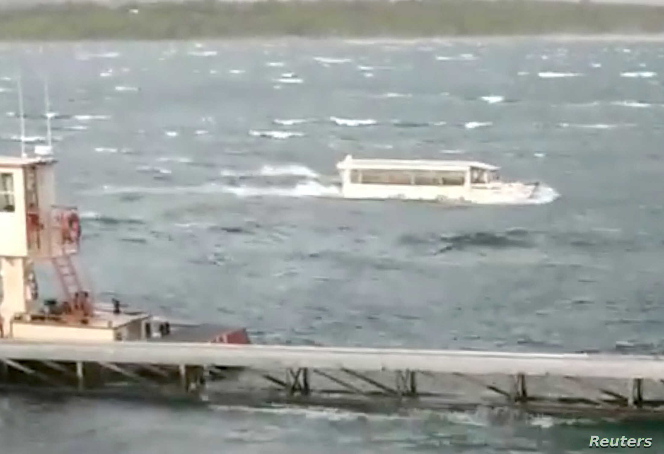 NTSB: Recordings Show Weather Change Before Boat Sank