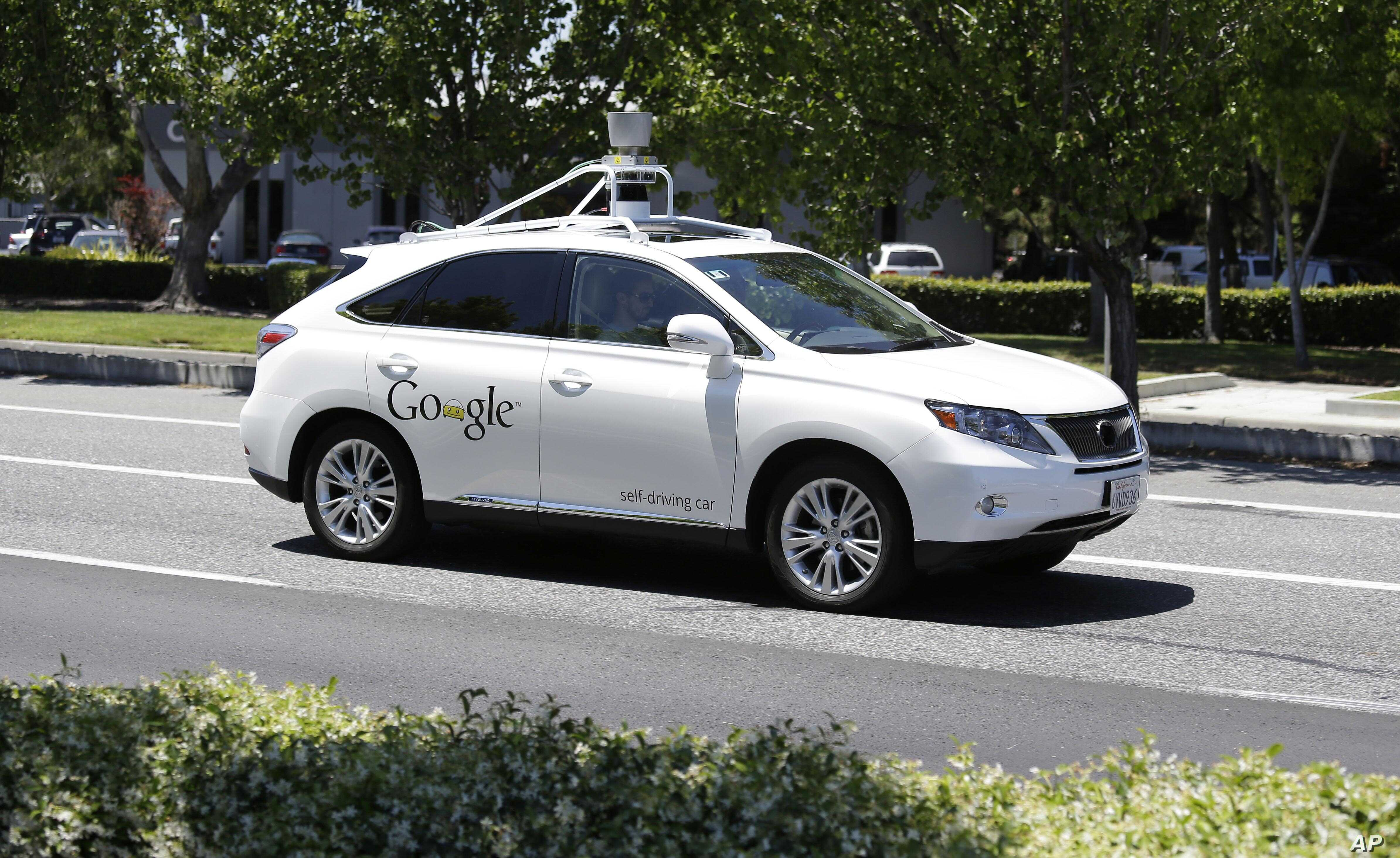 No Ticket, No Driver: Police Stop Google Self-driving Car   Voice of
