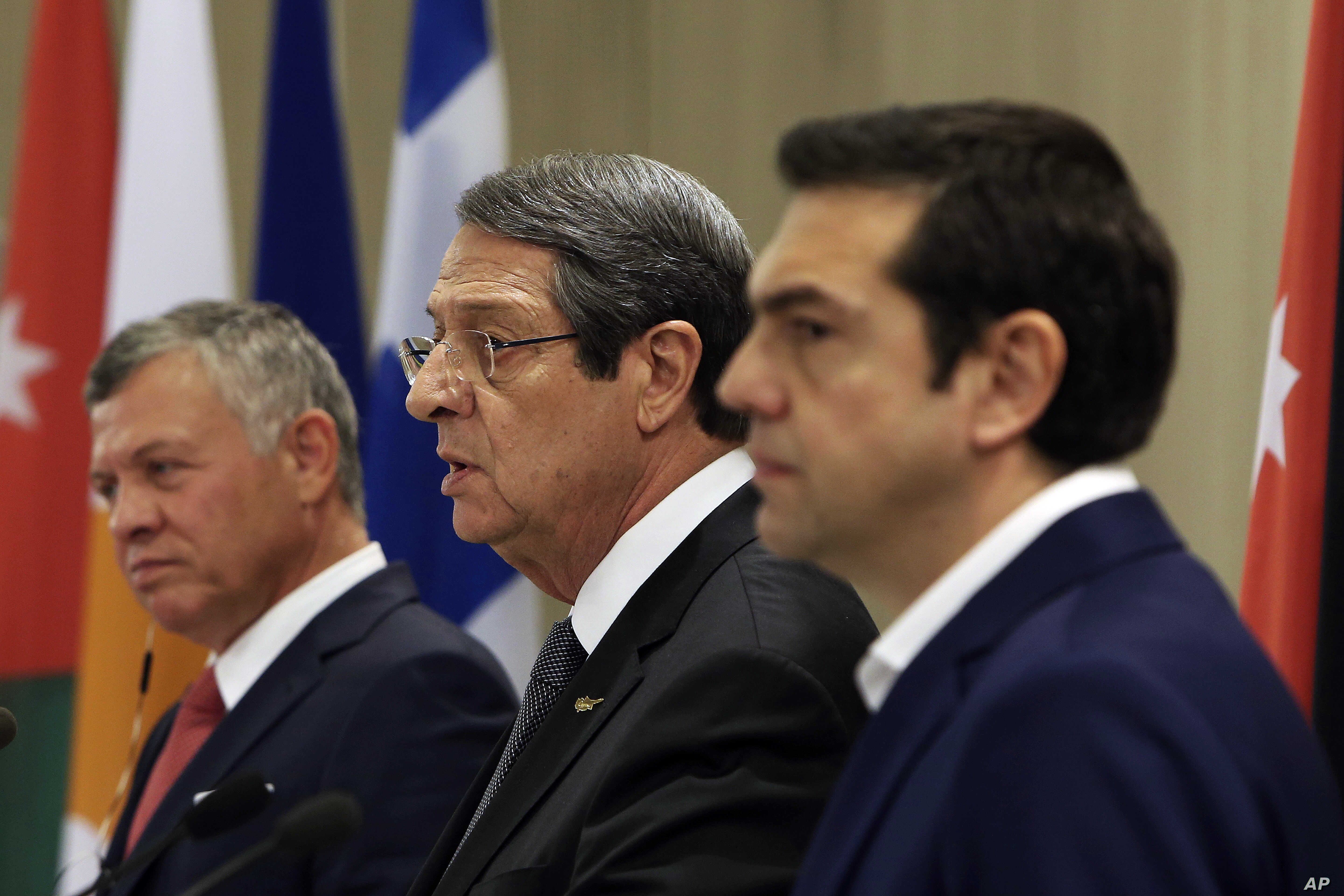 Cyprus, Greece and Jordan Aim to Bolster Region's Security | Voice