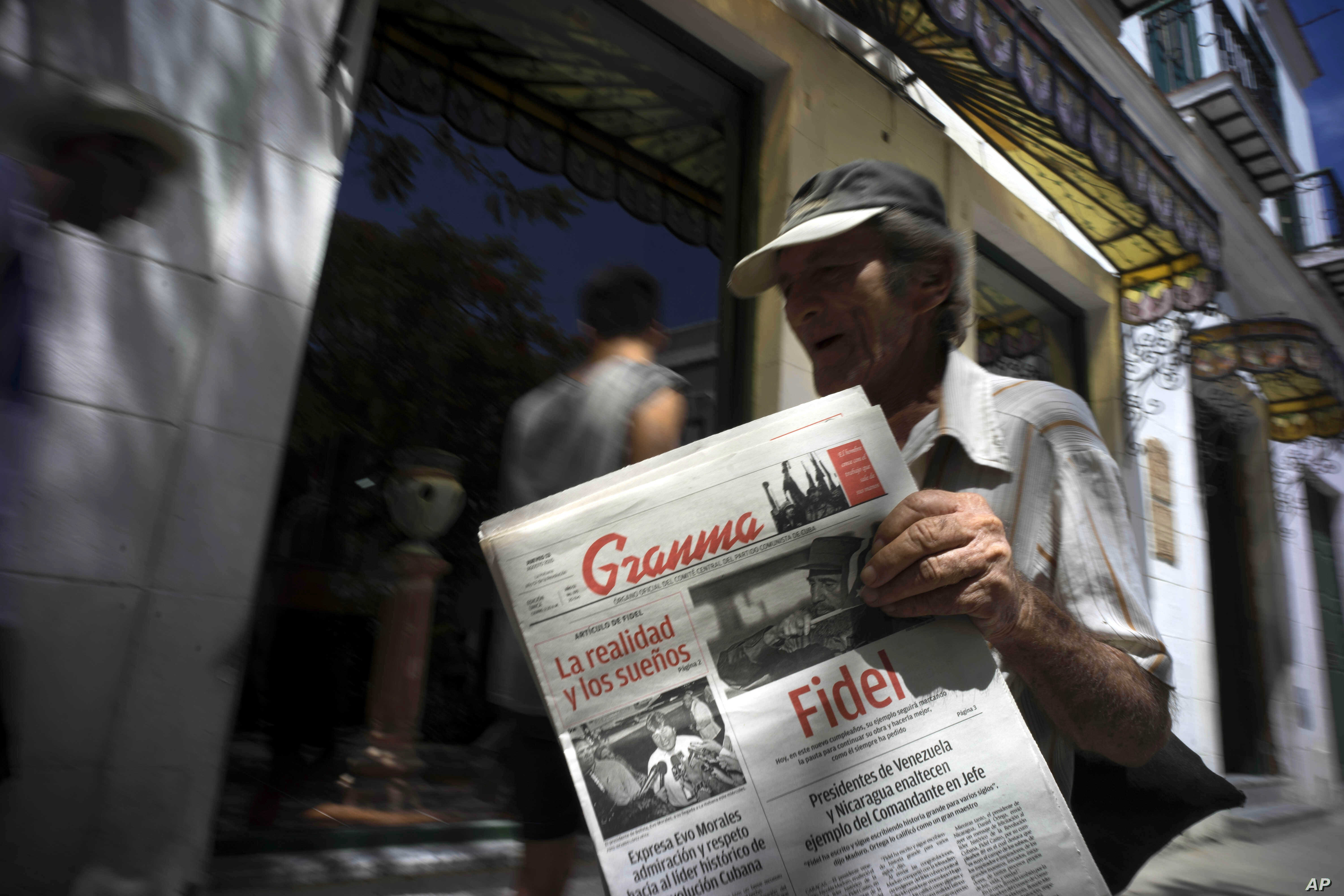 Paper Shortage Forces Newspaper Cuts in Cuba | Voice of