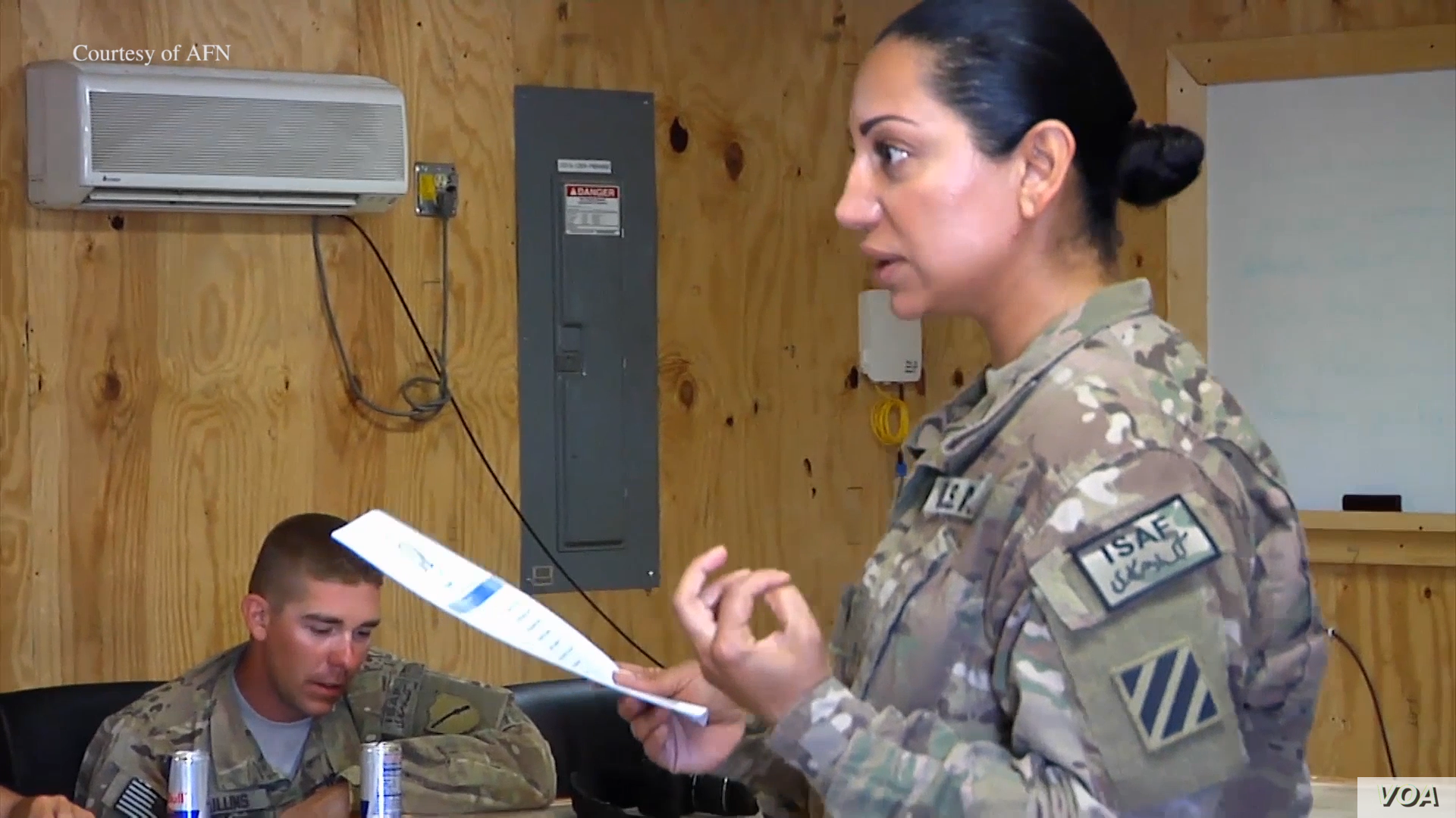 Once a US Soldier, Iranian Immigrant Now Serves Veterans