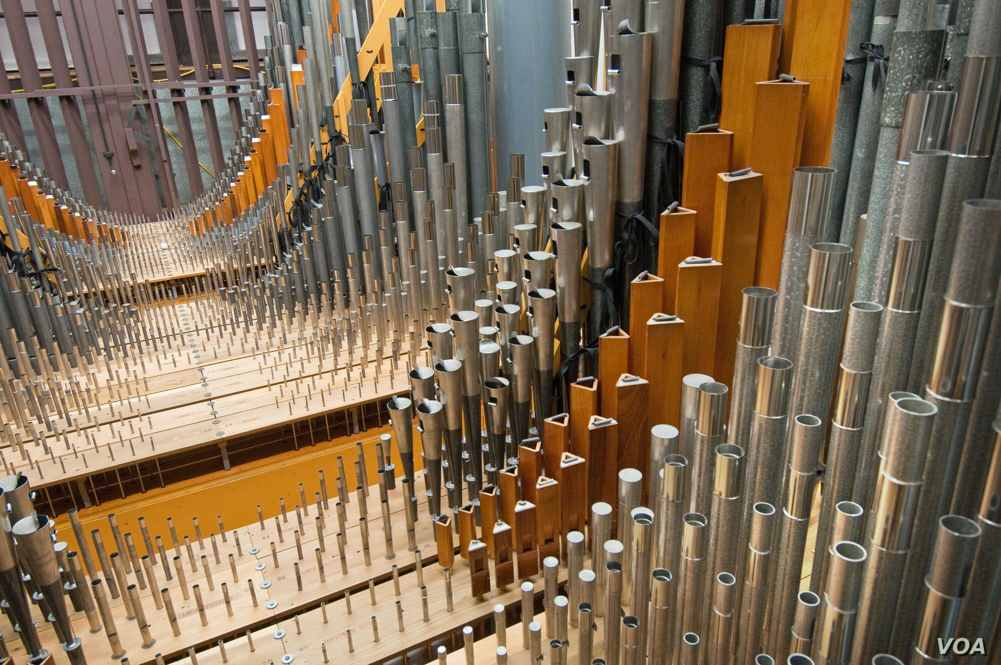 Competition Pushes the Limits of Longwood Gardens Organ