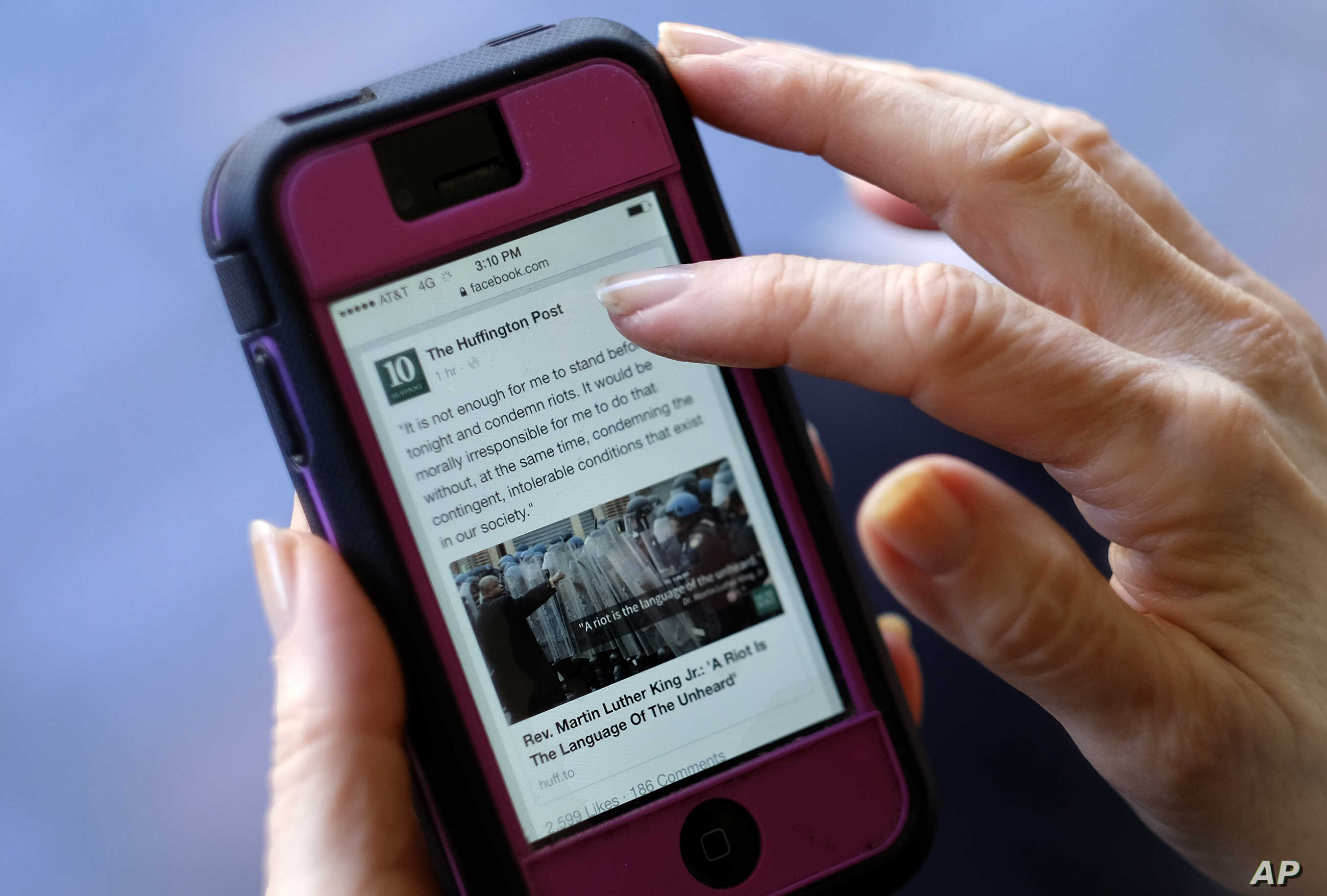 Survey: Number of Americans Getting News on Social Media