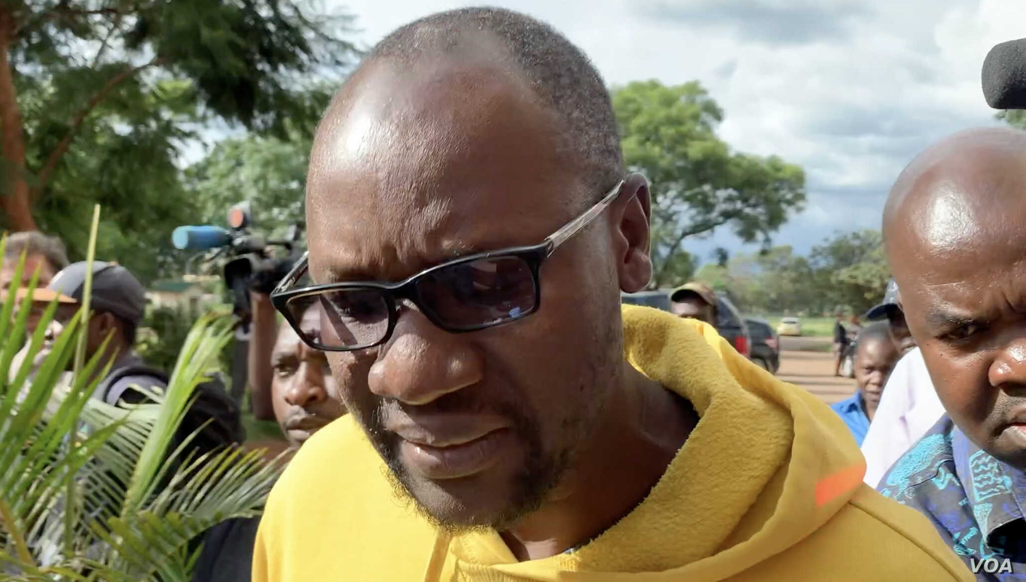 Pastor Evan Mawarire who faces subversion charges was granted $2,000 bail, he has been in prison for two weeks after being arrested for leading anti-fuel hike protests. In the photo, he arrives at the court in Harare two weeks ago.