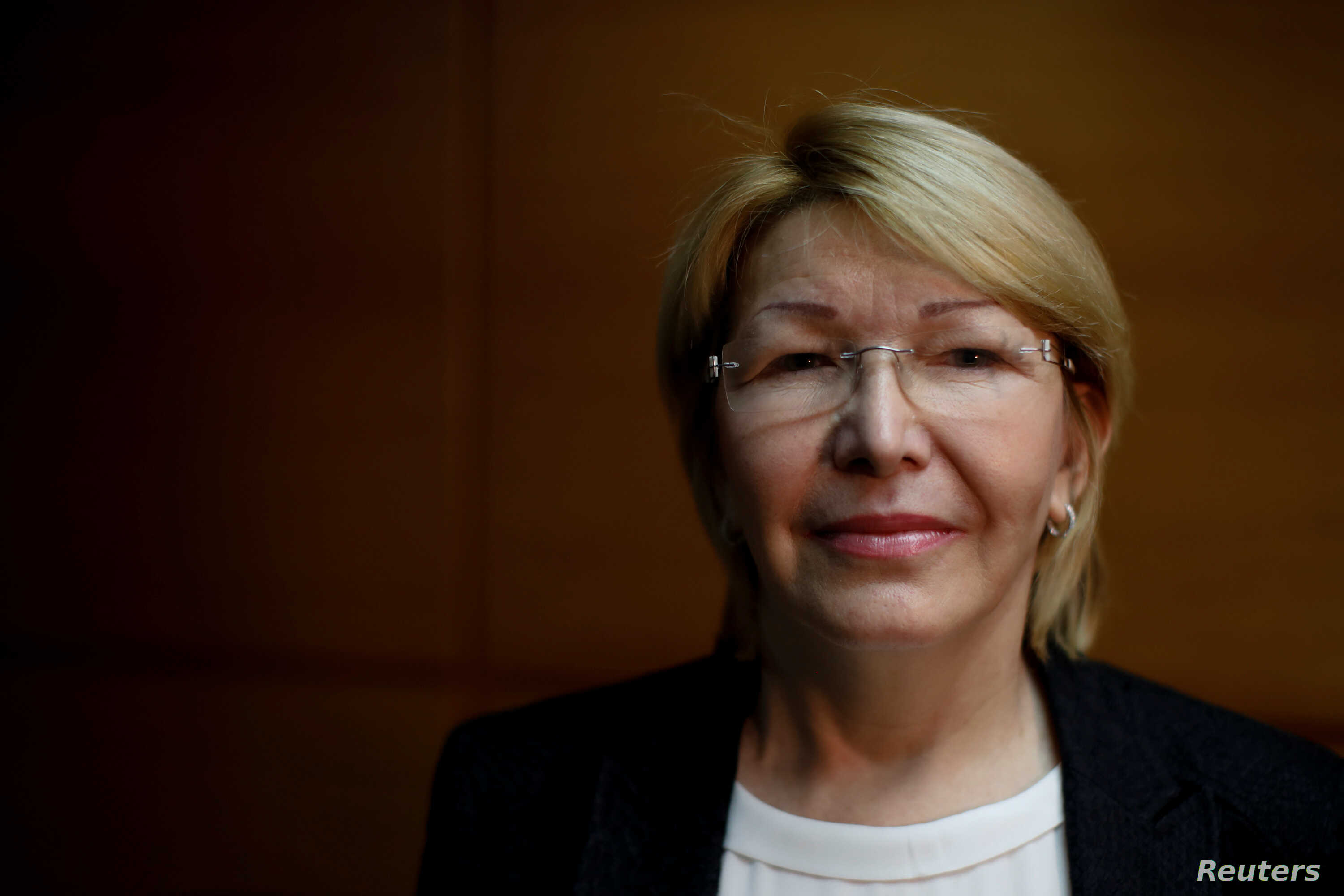 Venezuela's dismissed chief prosecutor Luisa Ortega Diaz poses for a picture during an interview with Reuters in Caracas, Aug. 10, 2017.