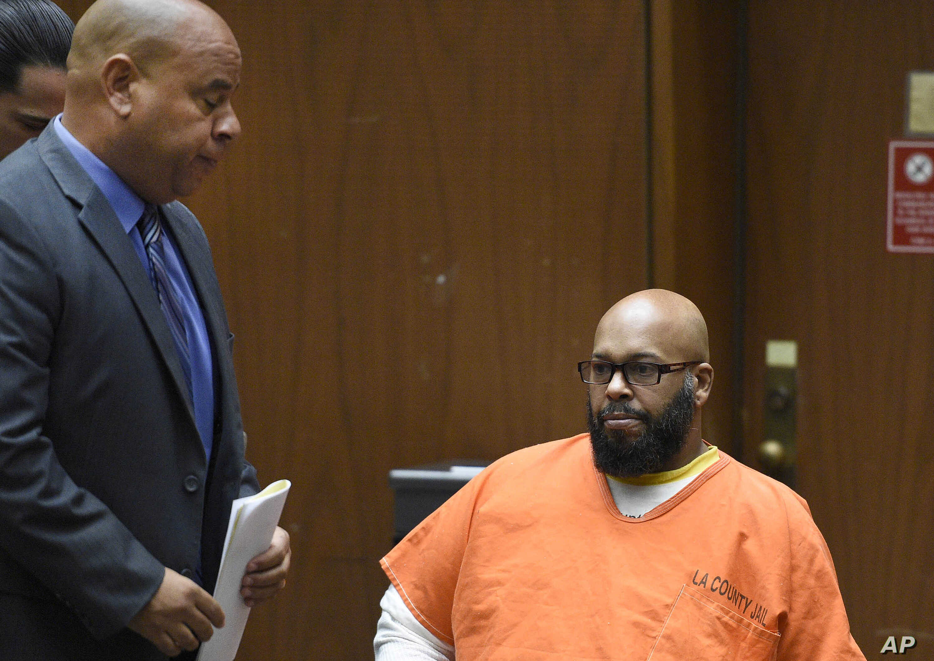 Rap Mogul Suge Knight Returns to Court Amid $25M Bail Request